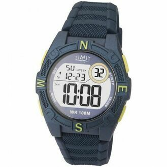 Limit Countdown Watch - Blue/Lime