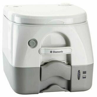 Dometic 972 Portable Toilet - White & Grey