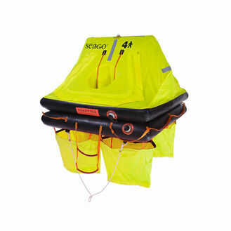 Seago Sea Cruiser ISO 9650-2 Liferaft - 4Man valise