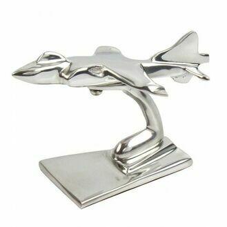 Aluminium Sea Harrier Sculpture (Available in Different Sizes)