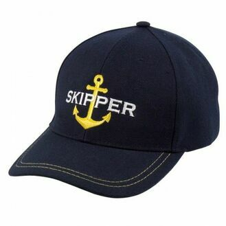 Nauticalia 'Skipper & Anchor' Yachtsman Cap