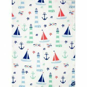 Nauticalia - Nautical Tea Towel, 71x51cm