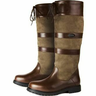 Orca Bay Jura Leather Waterproof Country Boot - Brown