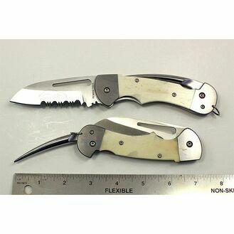 Myerchin Bone Captain Folder Pro Rigging Knife