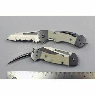 Myerchin Bone Crew Folder Pro Rigging Knife