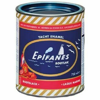 Epifanes Yacht Enamel - Deep Red