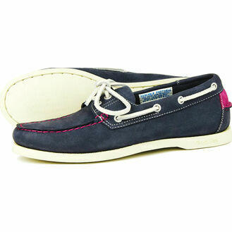 Orca Bay Sandusky Ladies Boat Shoe - Indigo/Deep Pink
