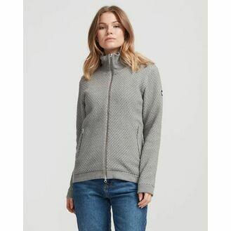 Holebrook Bobble Windproof Sweater - Grey Malange