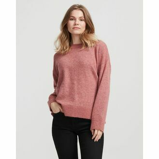 Holebrook Peggy Crew Knitted Sweater - Vintage Pink