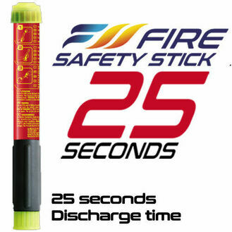 Fire Safety Stick - 25 seconds extinguishing time