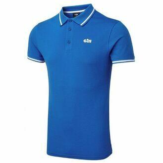 Gill Men\'s Helford Polo - Blue/White