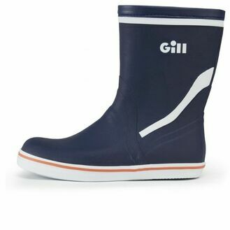 Gill Men\'s Short Cruising Boot - Dark Blue