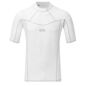 Gill Men's Pro Rash Long Sleeve Vest - White