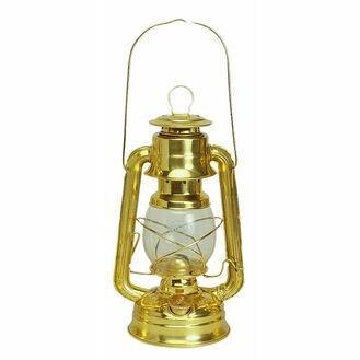 Nauticalia Hurricane Brass Oil Lamp - 26cm