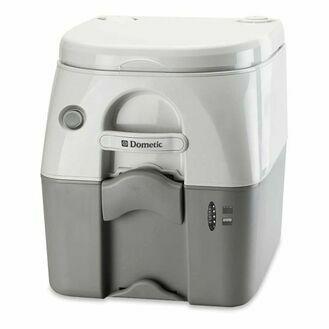 Dometic 976 Portable Toilet - White & Grey