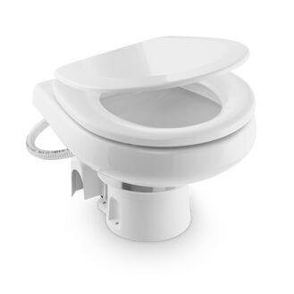 Dometic MasterFlush 7220 Electric Fresh Water Macerator Toilet - 12 V