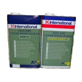 International Clear Wood Sealer Fast - 10L