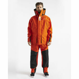 Henri Lloyd Men's O-Pro Jacket - Power Orange/Carbon