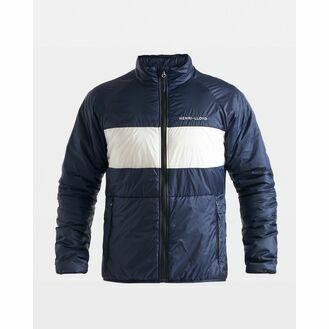 Henri Lloyd Men's Mav HL Liner Jacket (Cloud White, Navy Block & Navy Blue)