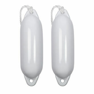 2 x Majoni Star Fender Size 2 Deflated - Free Fender Rope (Different Colours Available)