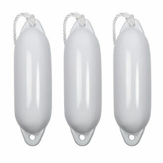 3 x Majoni Star Fender Size 1 Deflated - Free Fender Rope (Different Colours Available)
