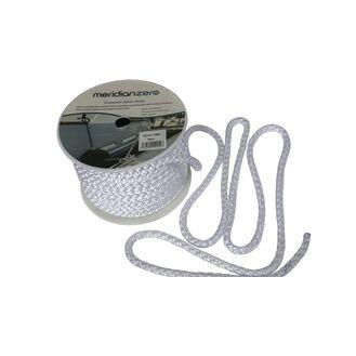 Meridian Zero Nylon Octoplait Anchor Line - White