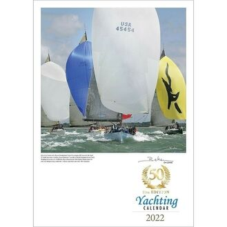 50th Anniversary Collector's Edition Beken of Cowes Calendar 2022 - Yachting