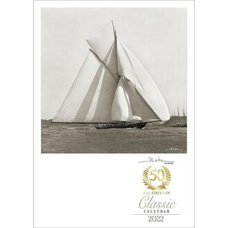 50th Anniversary Collector's Edition Beken of Cowes Calendar 2022 - Classic