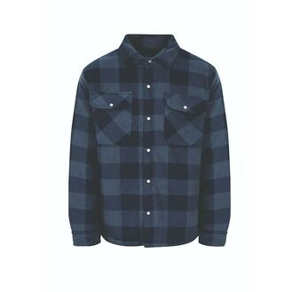 Men's Quilted 'Shacket', Navy