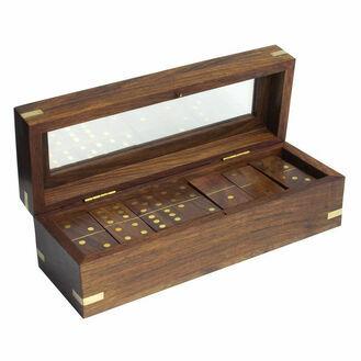 Nauticalia Dominoes Wooden Box Set - 20cm