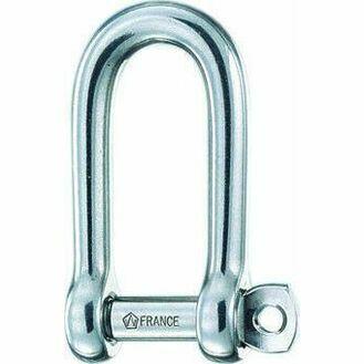 Wichard Long D Self Lock Shackle