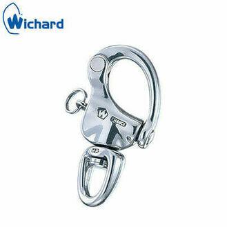 """Wichard 90mm """"HR"""" Snap Shackle: Swivel Eye"""