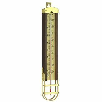Nauticalia Brass/Wooden Thermometer