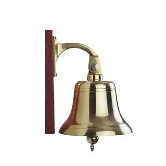 Nauticalia Brass Ship's Bell - 6 Inches