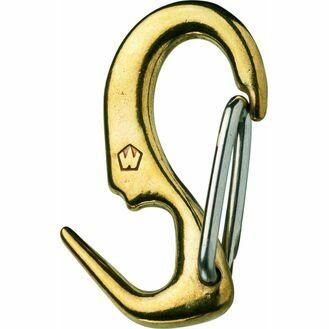 "Wichard 50mm Brass ""One Hand"" Sail Snap"