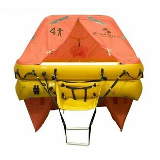 Ocean Safety Ocean ISO9650 6V 6 Person Liferaft <24 Hour Pack