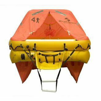 Ocean Safety Ocean ISO9650 10V 10 Person Liferaft <24 Hour Pack