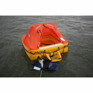 Ocean Safety Ocean ISO 10V 10 Person Liferaft >24 Hour Pack