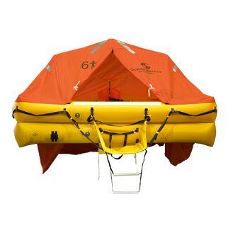 Ocean Safety ISO9650 6V SOLAS B Emergency Liferaft - 6 Person