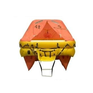 Ocean Safety Ocean 10 Person Cannister ISO9650 SOLAS B Liferaft