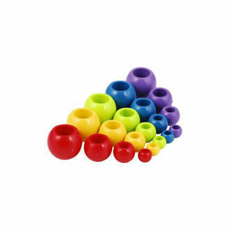 Allen 4X13mm Ball Stopper - Purple (Pack of 2)