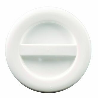 Allen 100mm O Hatch Cover - White