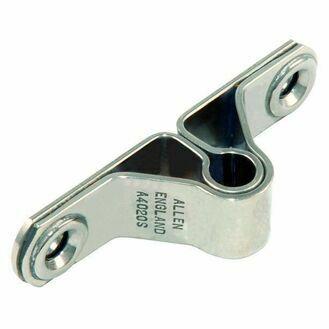 Allen 8mm Stainless Steel H/D Transom Gudgeon