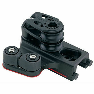 Harken 22 mm End Control Double Sheave, Cam Cleat, Set of 2