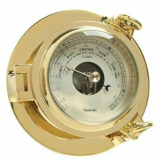Nauticalia Brass Cabin Barometer