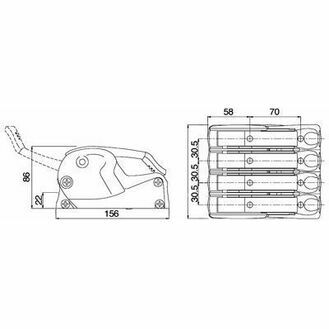 Spinlock Quadruple XTS0814 Rope Clutch