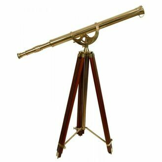 Nauticalia Fleet Review Brass Telescope