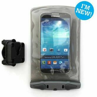 Aquapac Small Bike/Pedestal  Mounted Waterproof Phone Case - Galaxy etc