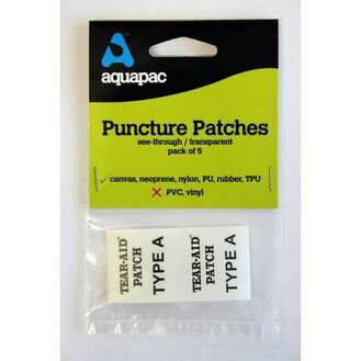 Aquapac Puncture Repair Patch - Pack of 5