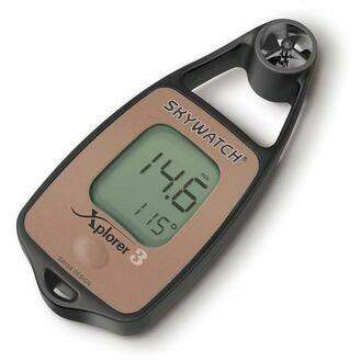 Skywatch Xplorer 3 Handheld Anemometer - Wind, Temperature & Compass